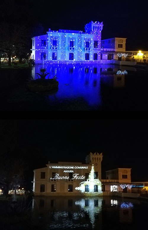 LED Projection Gibraltar